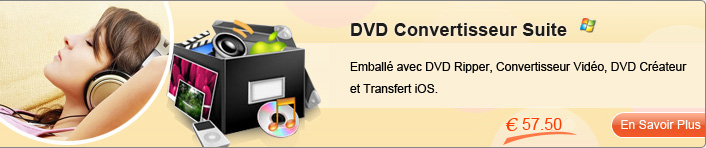 DVD Convertisseur Suite