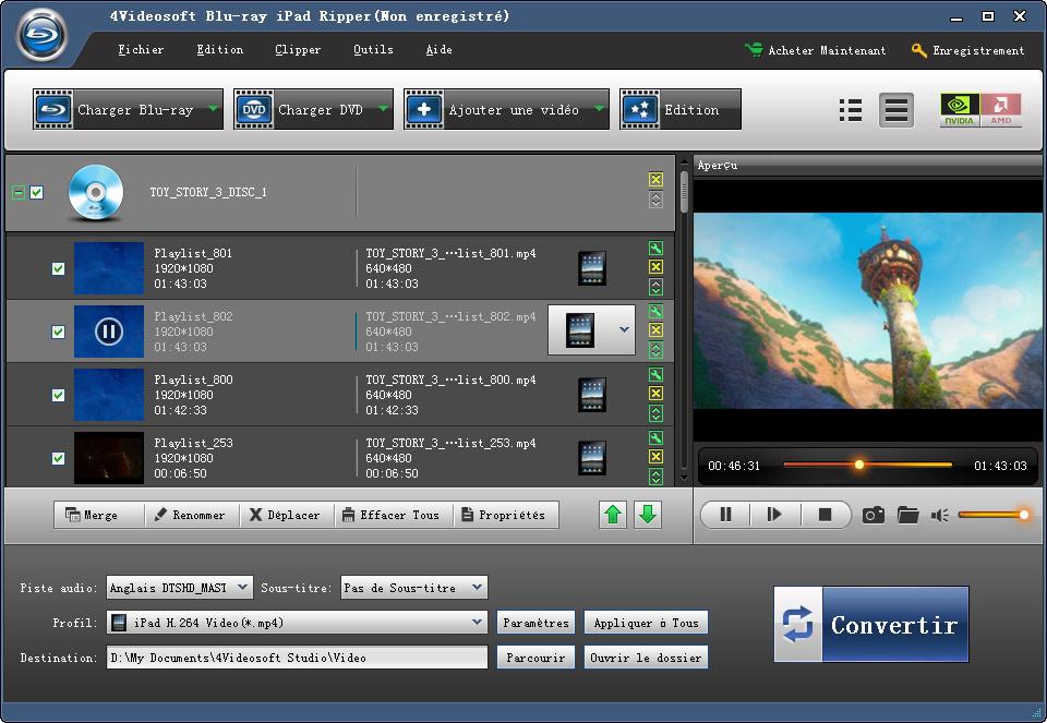 Windows 7 4Videosoft Blu-ray iPad Ripper 5.0.18 full