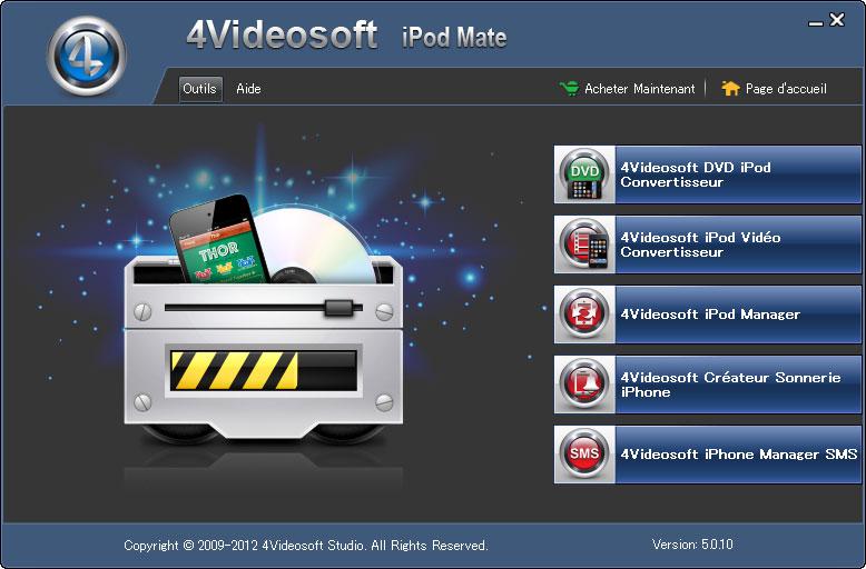 4Videosoft iPod Mate screenshot