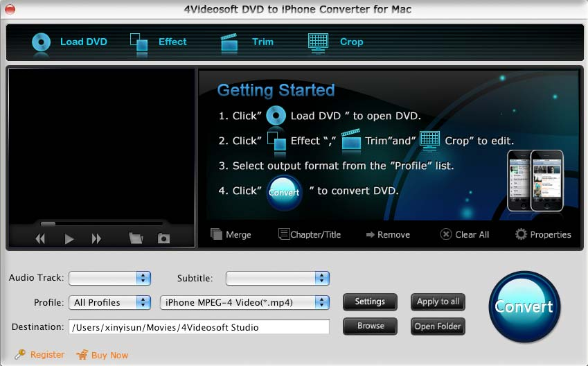 the best Mac DVD to iPhone Converter software