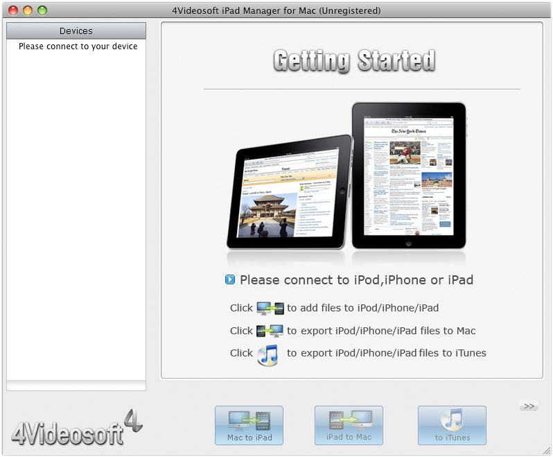 powerful Mac iPad Manager