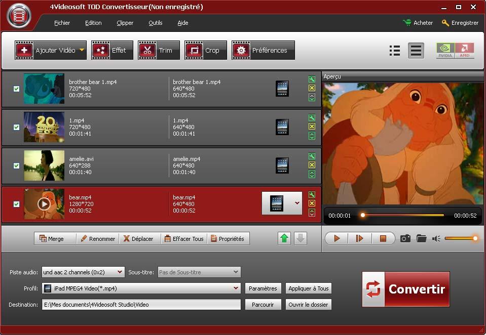4Videosoft TOD Convertisseur 3.3.12