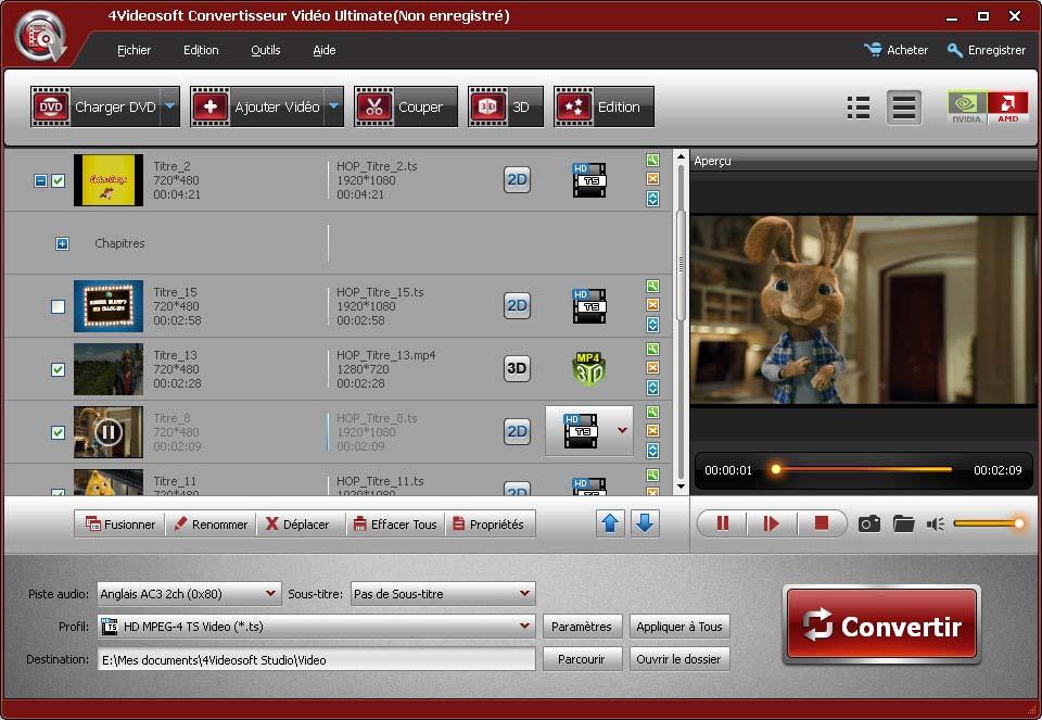 4Videosoft Convertisseur Vidéo Ultimate screenshot